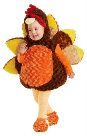 Toddler/Child Plush Turkey Costume