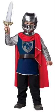 Toddler Gallant Knight Costume
