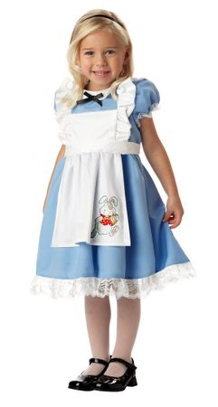 Toddler Lil' Alice in Wonderland Costume