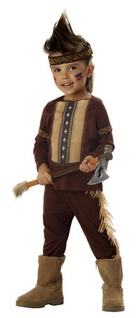 Toddler Lil' Warrior Indian Costume