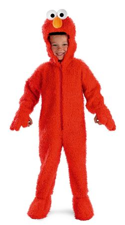 Toddler Sesame Street Elmo Deluxe Plush Costume