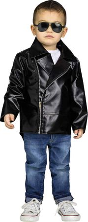 Toddler Size 50's Black Rock 'N' Roll Jacket
