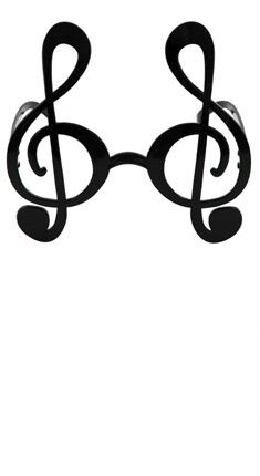 Treble Clef Sunglasses