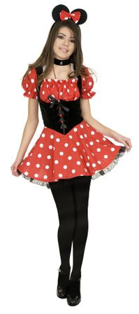 Tween Miss Mouse Costume
