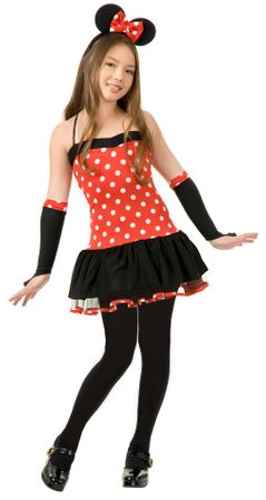 Tween Miss Mouse Cutie Costume
