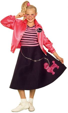 Tween Nifty Fifties Sock Hop Costume