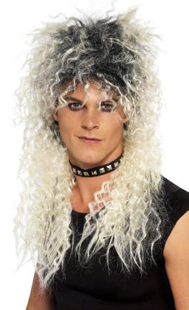 Two-Tone Blonde Hard Rocker Wig