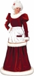 Ultra Velvet Mrs. Claus Costume