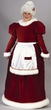 Ultra Velvet Mrs. Claus Costume (Plus)