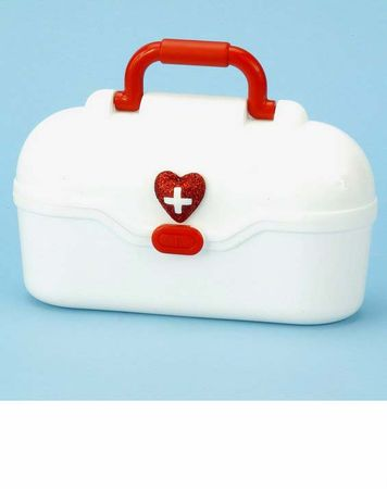 White Plastic Nurse's Bag