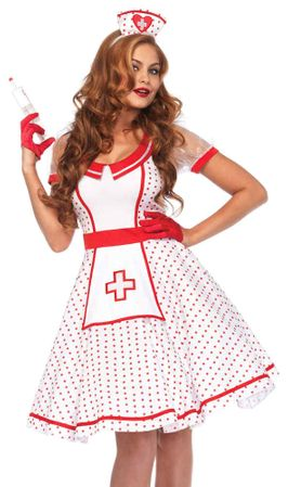 Women's Bedside Betty Nurse Costume
