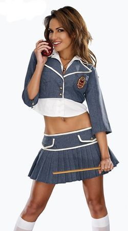 Women's Charm Schooled Sexy Costume