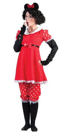 Women's Classic Polka Dot Milly Mouse Costume