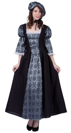 Women's Colonial Lady Charlotte Costume