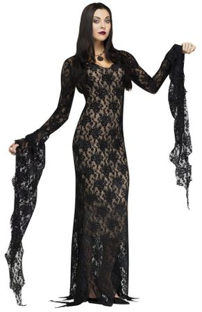 Women's Deluxe Miss Darkness Costume