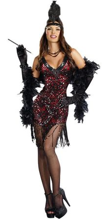 Women's Dreamgirl Dames Like Us Flapper Costume
