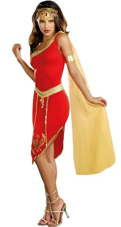 Women's Dreamgirl Queen of the Nile Costume