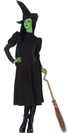 Women's Elphaba Wicked Witch Deluxe Costume