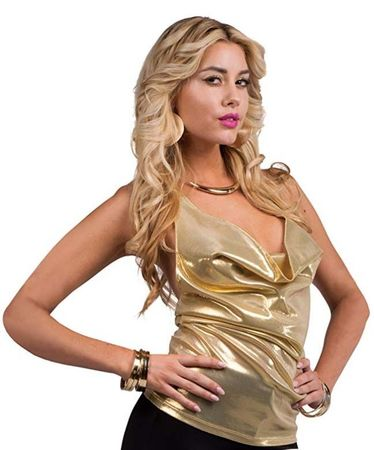 Women's Gold Dust Disco Top