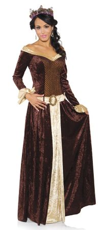 Women's Medieval My Lady Costume