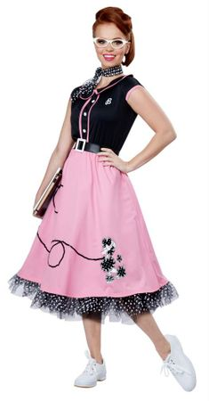 Women's Pink 50's Sweetheart Costume