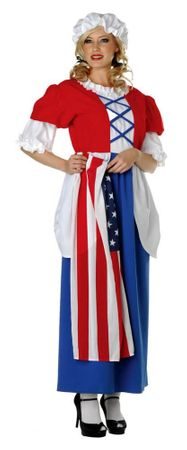 Women's Plus Size Betsy Ross Costume