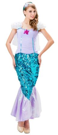 Women's Plus Size Sweet Mermaid Costume