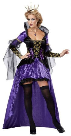Women's Purple Wicked Queen Costume