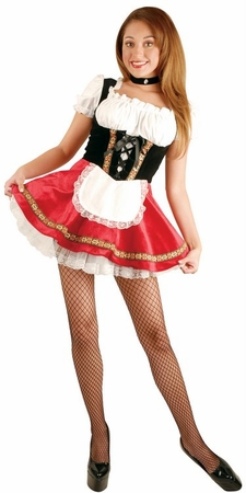 Women's Red Beer Garden Girl Costume