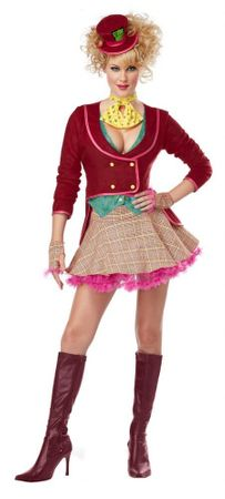 Women's Sexy Mad Hatter Costume