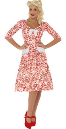 Women's World War II Sweetheart 1940s Costume