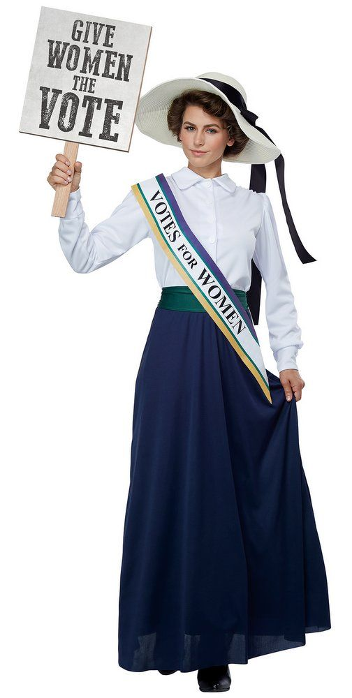 bd50c2442f6 Women s American Suffragette Costume - Candy Apple Costumes ...