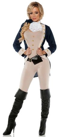 Women's Colonial Americana Costume