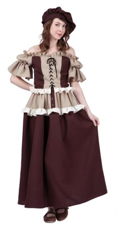 Women's Colonial Lady Kathryn Costume