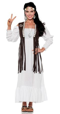 Women's Earth Child Hippie Costume
