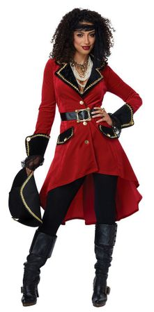 Women's High Seas Heroine Pirate Costume