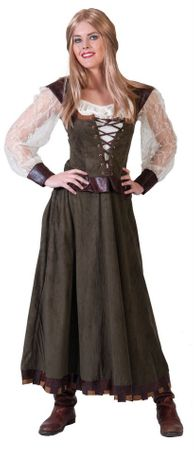 Women's Mighty Maid Marian Medieval Costume