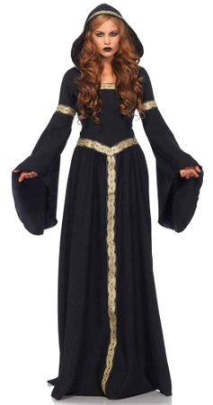 Women's Pagan Witch Costume, Size S/M