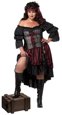 Women's Plus Size Pirate Wench Costume