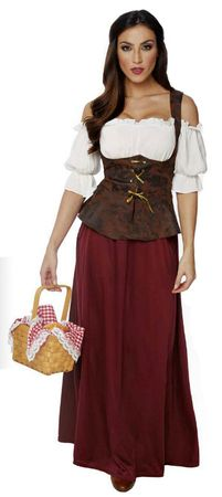 Women's Renaissance Peasant Lady Costume