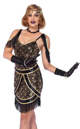 Women's Speakeasy Sweetie Flapper Costume