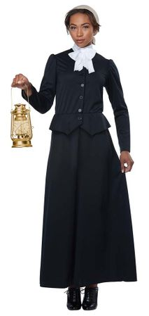 Women's Susan B. Anthony/Harriet Tubman Costume