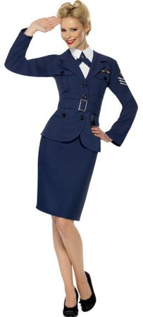 Women's World War II Air Force Captain Costume
