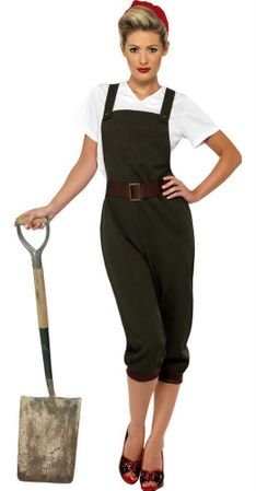 Womens' World War II Rosie Costume