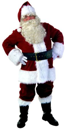 XXL Super Deluxe Santa Claus Suit