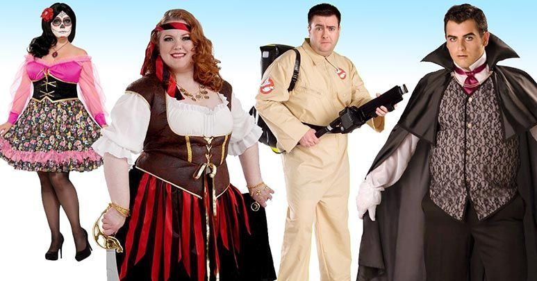 0ad20539a8b Big and Tall Plus Size Halloween Costumes