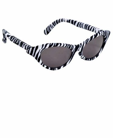 Zebra Cat Eye Sunglasses