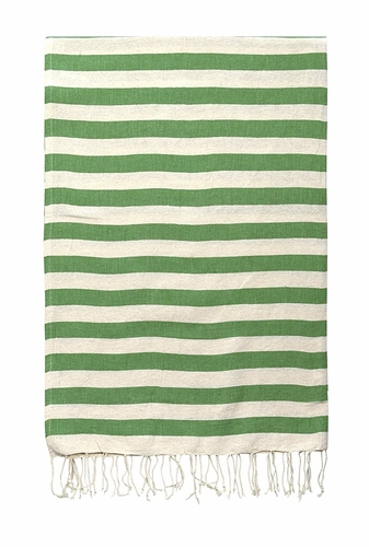 Green 100% Cotton Turkish Thin Camping Bath Sauna Beach Gym Pool Blanket Fouta Peshtemal Towels