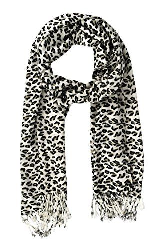 Animal Leopard Print Sheer Summer Long Scarves Shawls Wrap