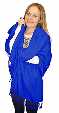 Elegant Soft Luxurious Pashmina Cashmere Wrap shawl stole From Peach Couture